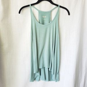 Light green flowy tank top